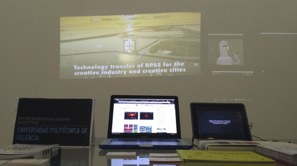 "UPV presents the video ""UPV research for Creative Industries"" referring to the AiRT proposal"