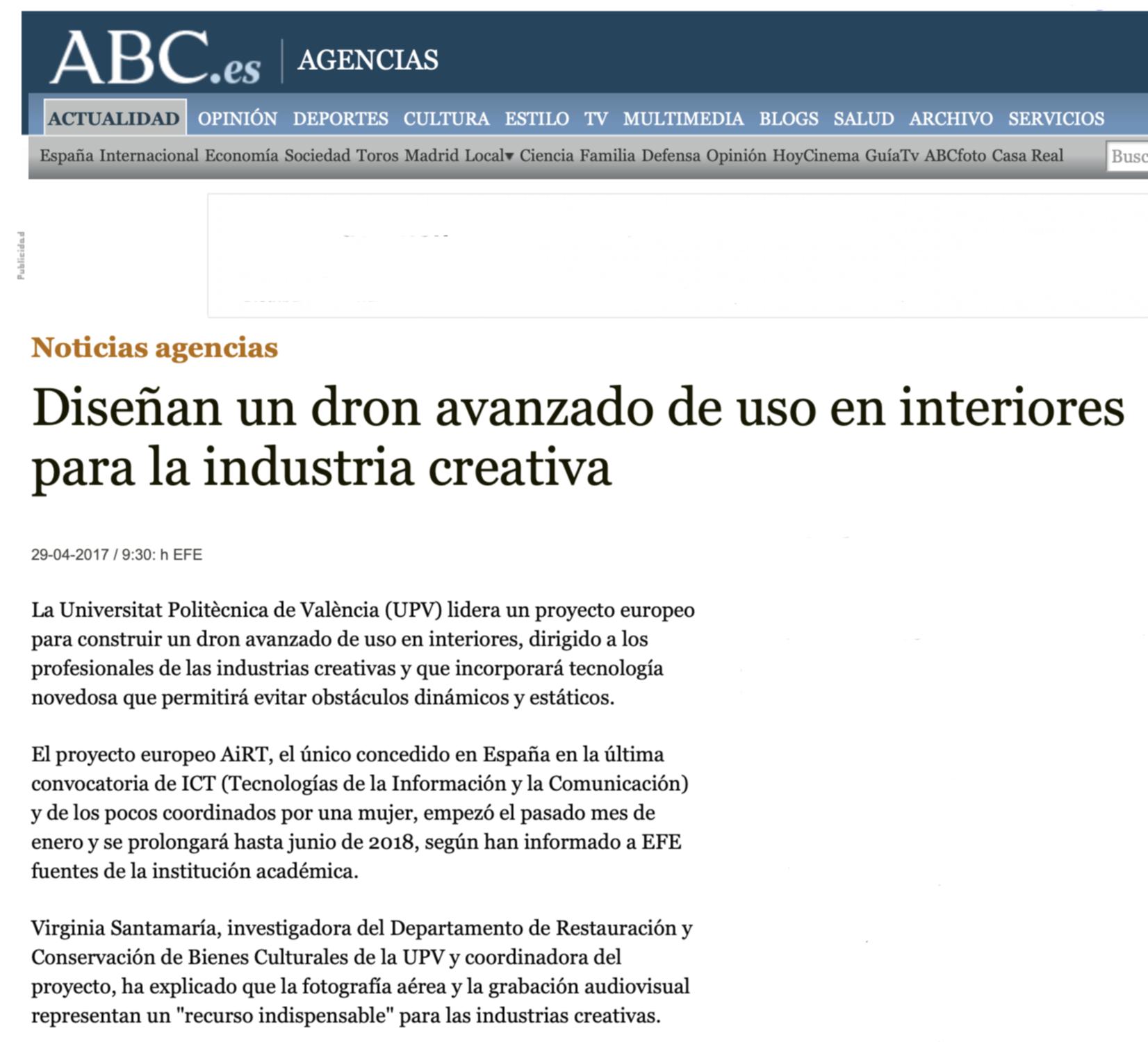 AiRT in ABC.es
