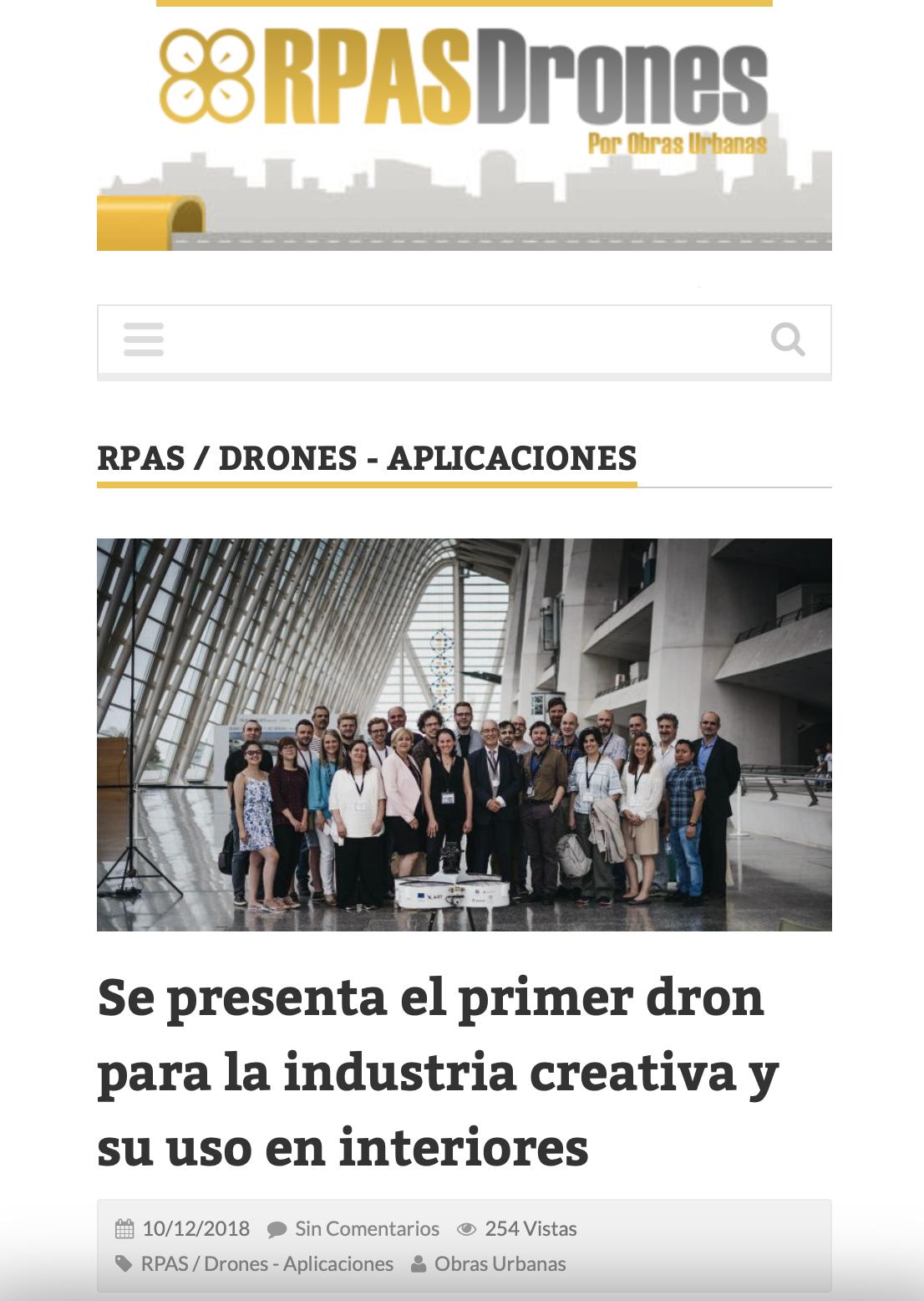 AiRT in ObrasUrbanas.es