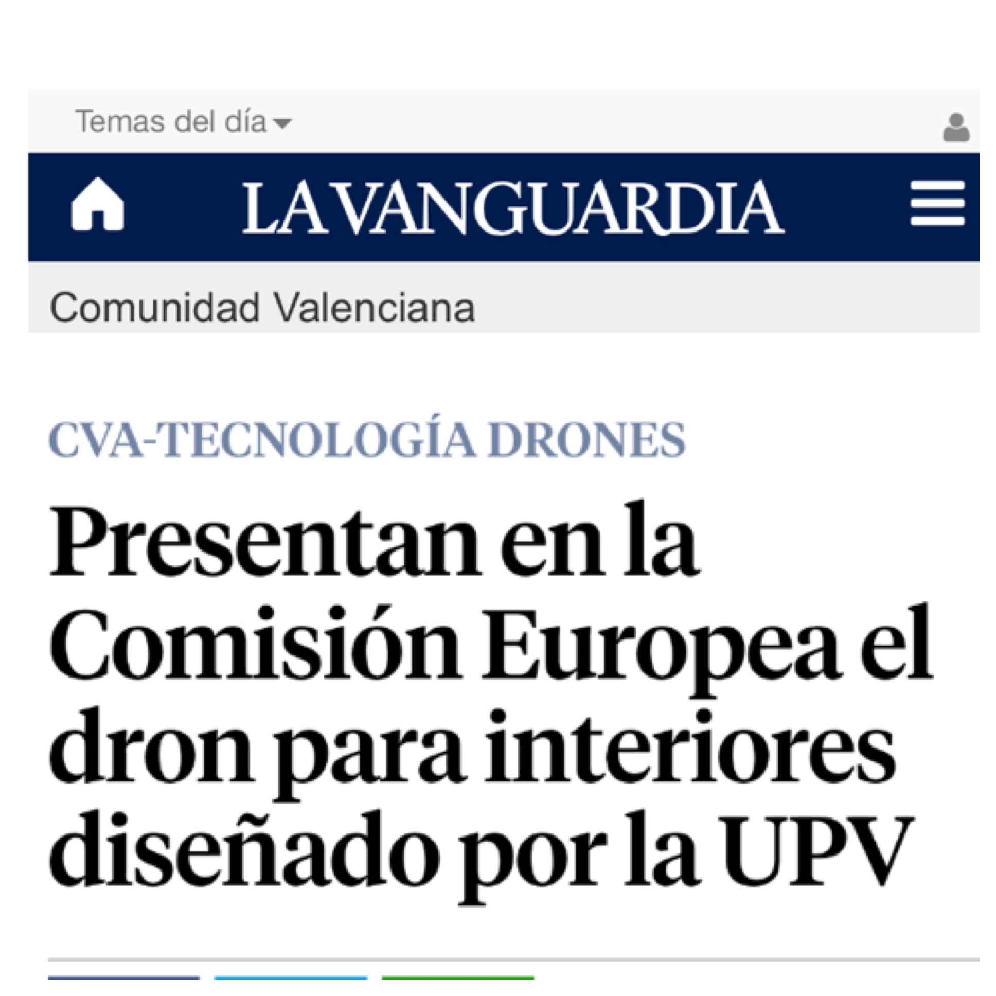 AiRT in La Vanguardia