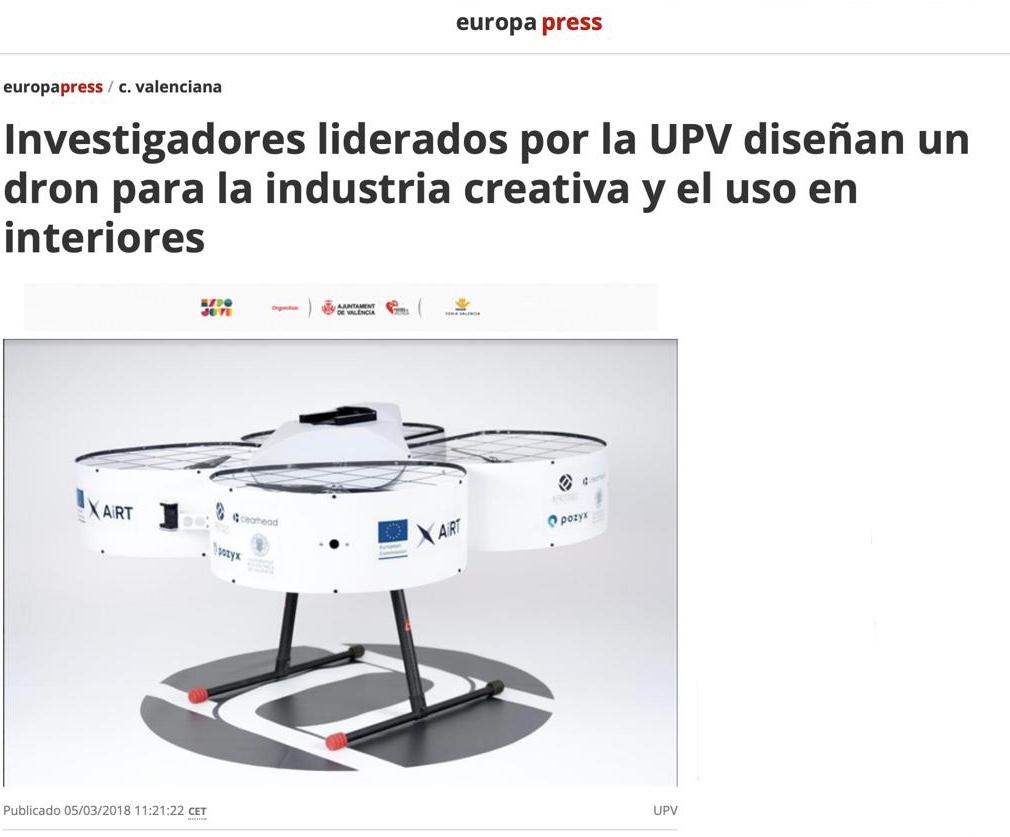 AiRT in Europa Press