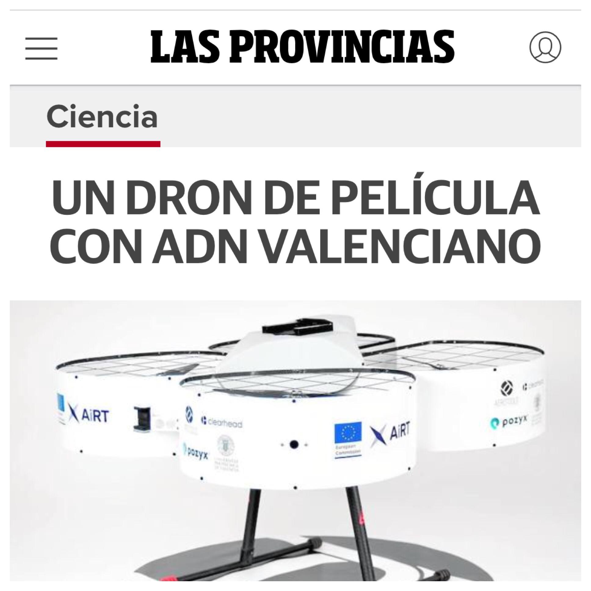 AiRT in Las Provincias