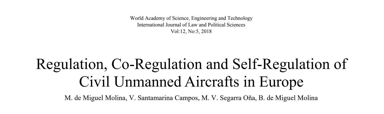 AiRT project in International Journal of Law and Political Sciences