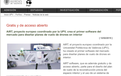 Airt Project in UPV News